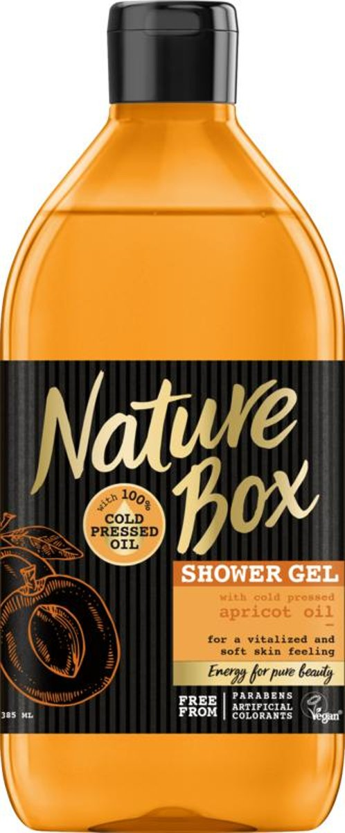 NATURE BOX Shower Gel Apricot Smoothness - 385 ml