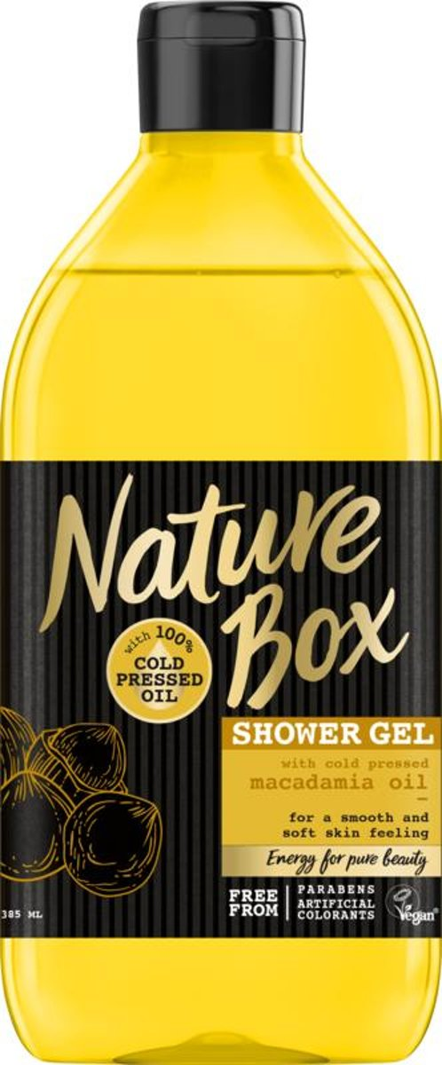 Nature Box Macadamia Douchegel - 385 ML