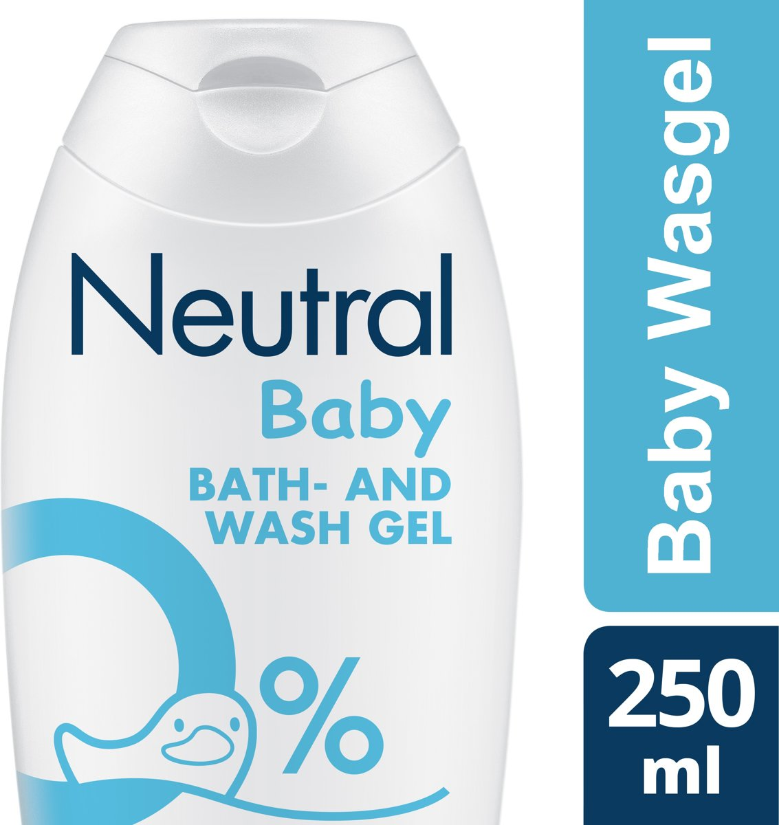 Neutral 0% Parfumvrije Baby Wasgel - 250 ml