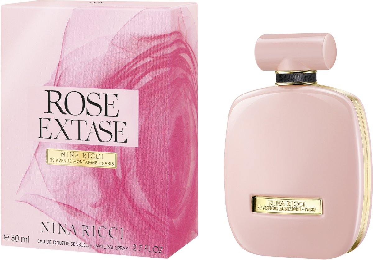 NINA RICCI ROSE EXTASE EDT 80ml