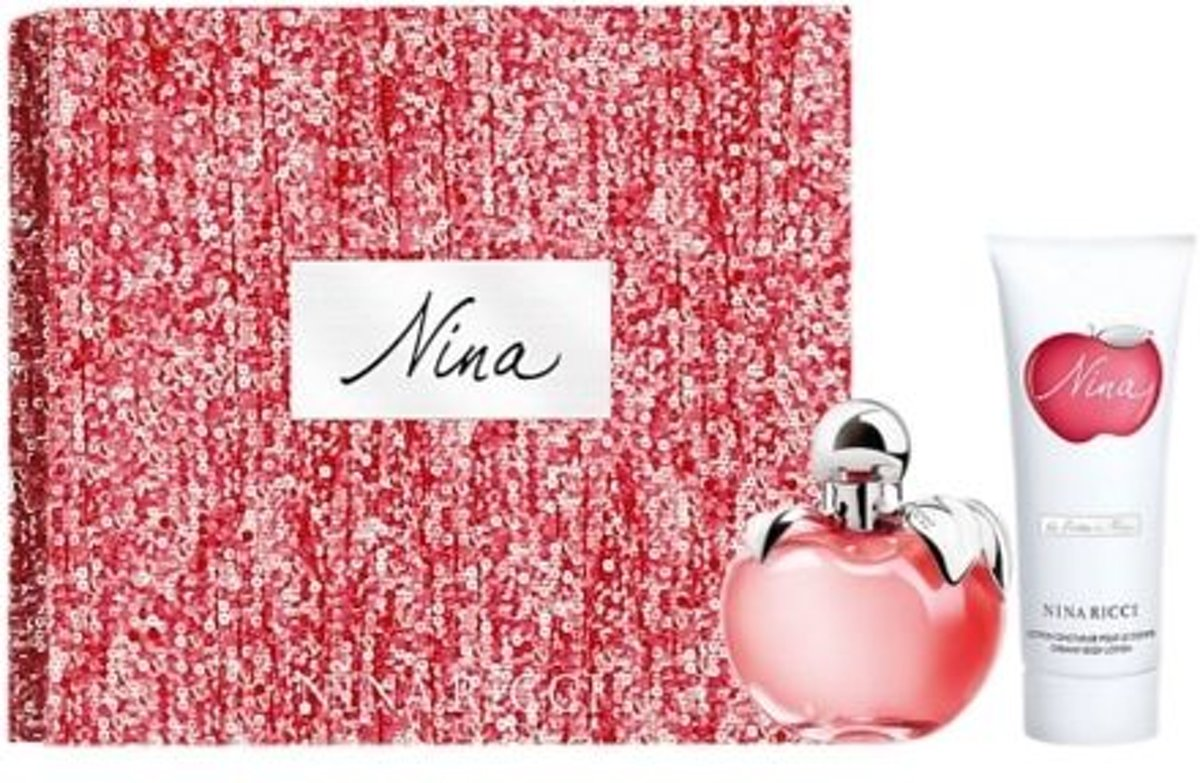 Nina Ricci - Eau de toilette - NIna 50ml eau de toilette + 75ml bodylotion - Gifts ml