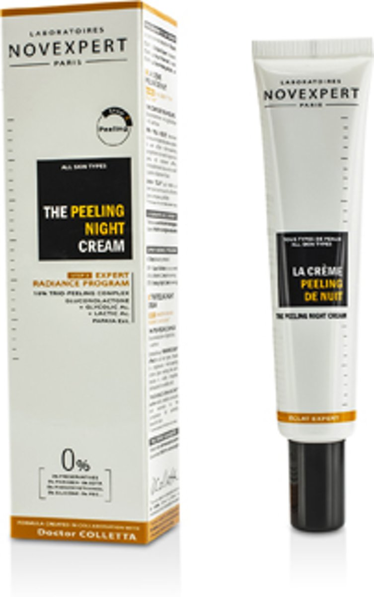 NOVEXPERT THE PEELING NIGHT CREAM