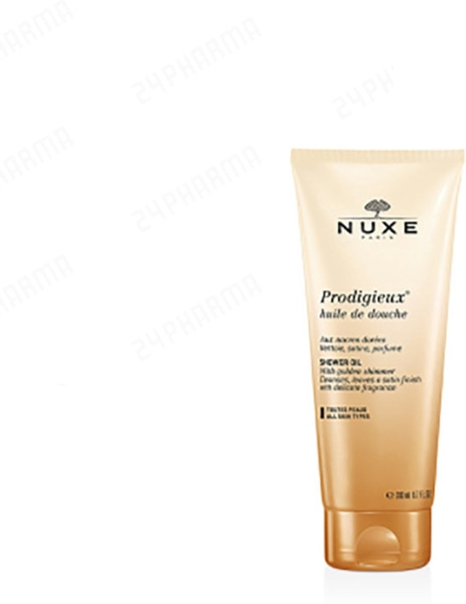Nuxe prodigieux shower oil with golden shimmer 200ml