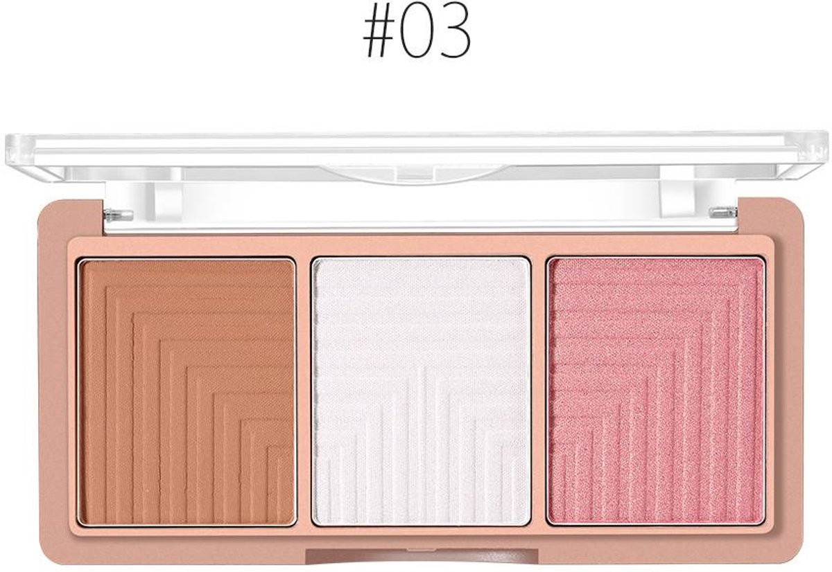 Contouring & Highlighter Pallette - Color 03