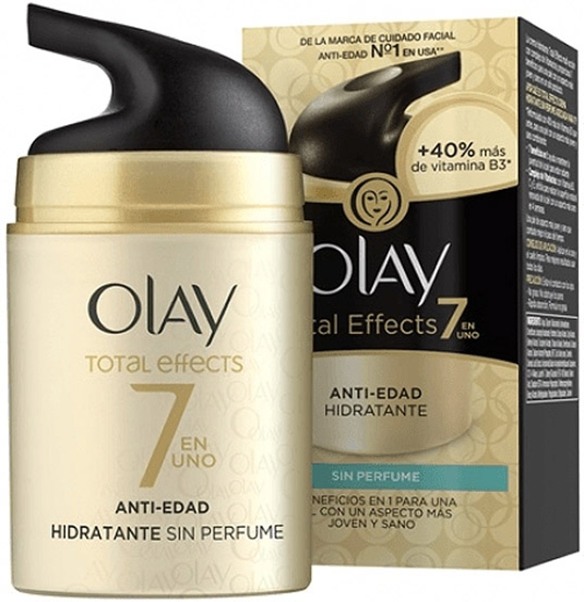 Anti-Veroudering Hydraterende Crème Total Effects Olay (50 ml)