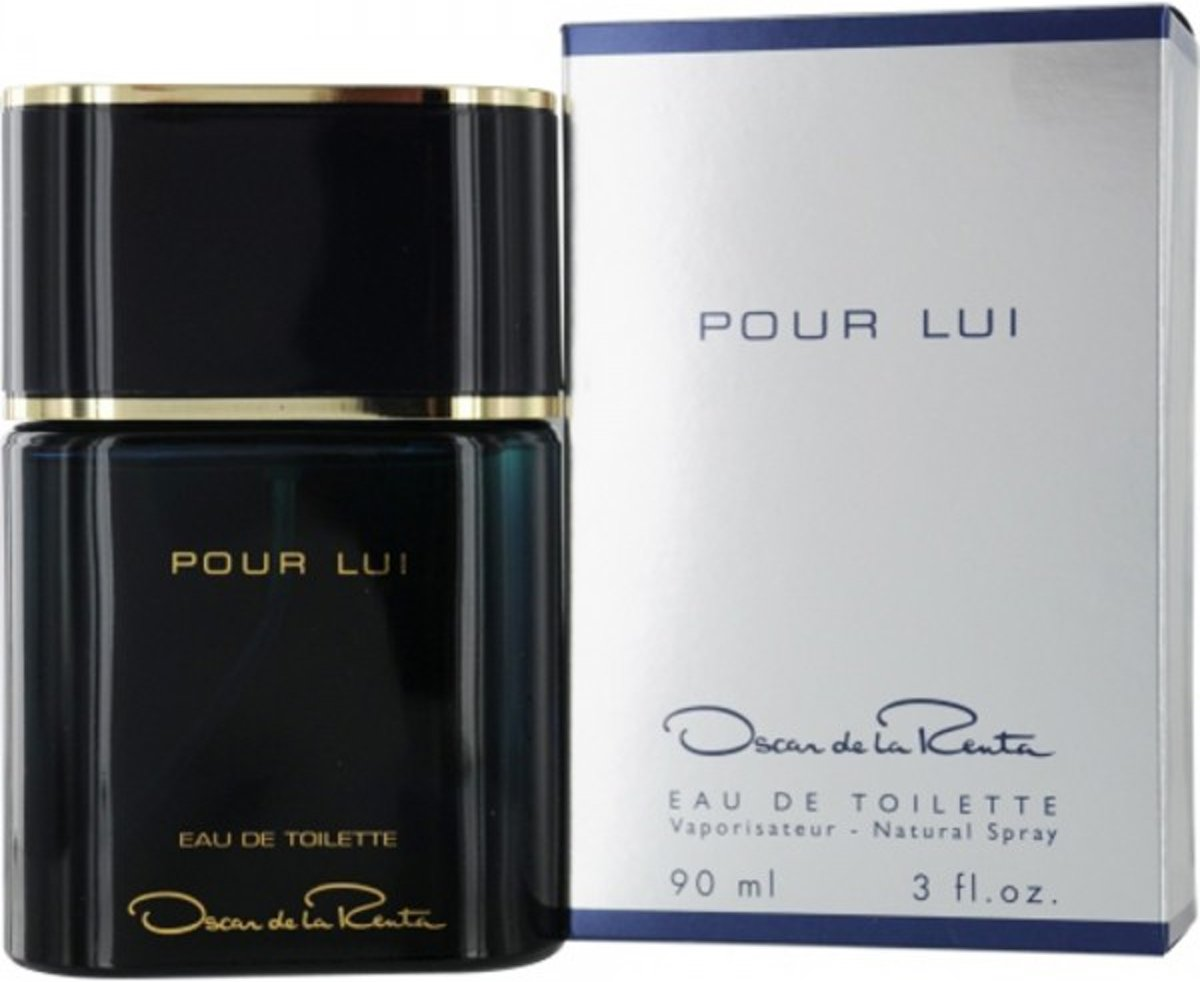 MULTI BUNDEL 3 stuks Oscar De La Renta Oscar Pour Lui For Men Eau De Toilette Spray 90ml