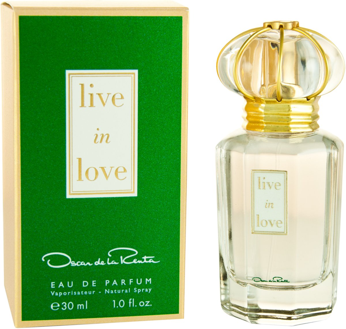 Oscar de la Renta Live in Love for Woman - 30 ml - Eau de parfum