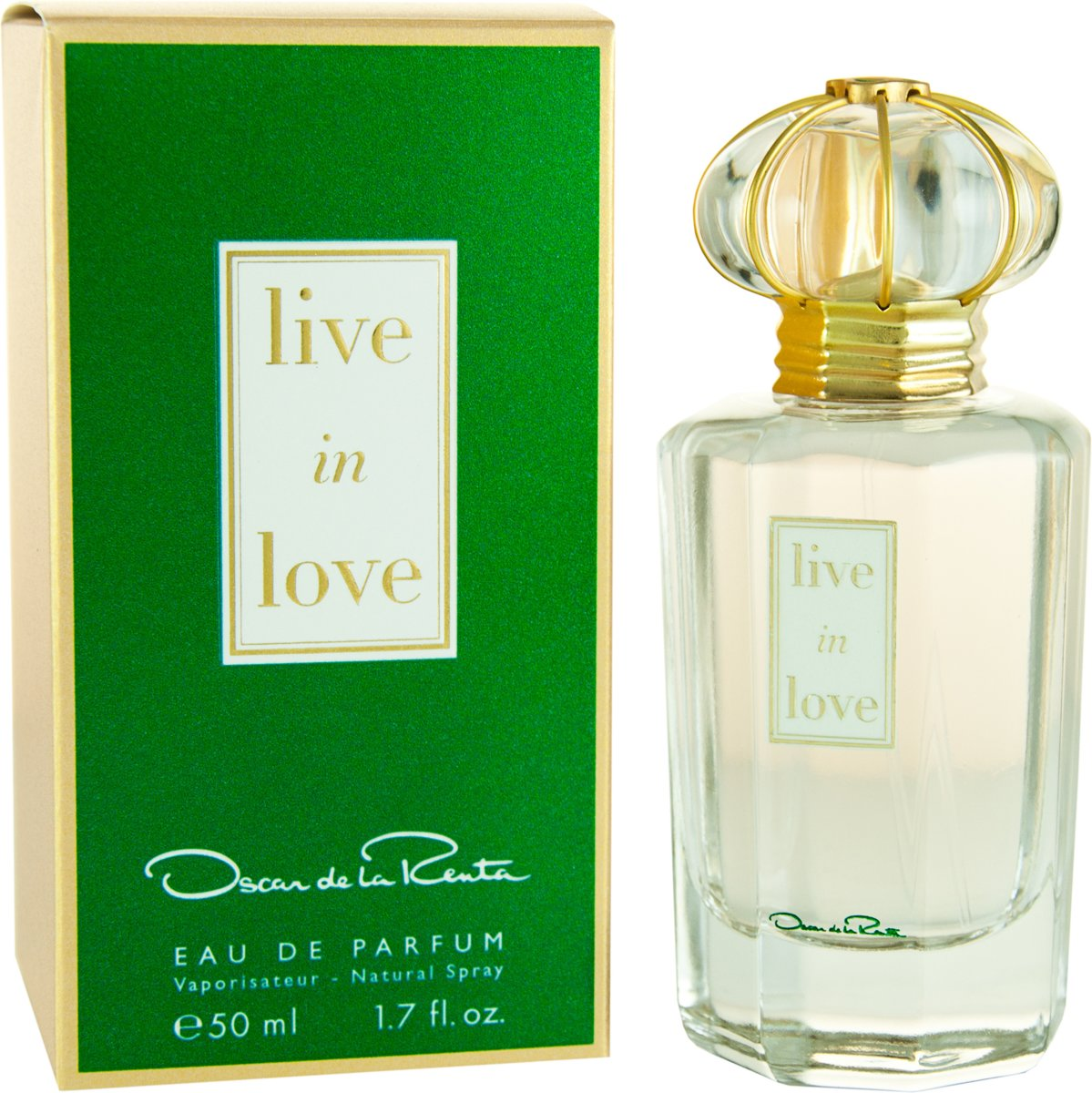 Oscar de la Renta Live in Love for Woman - 50 ml - Eau de parfum