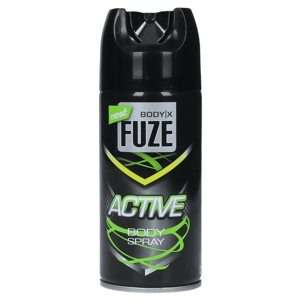 12x Body-X Fuze Deospray Active 150 ml