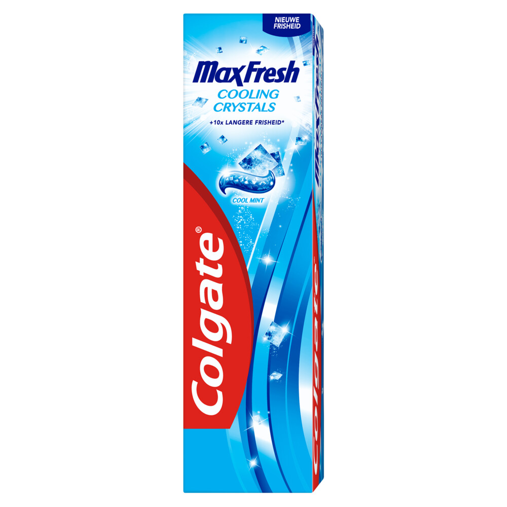 12x Colgate Tandpasta Max Fresh Cooling Crystals 75 ml