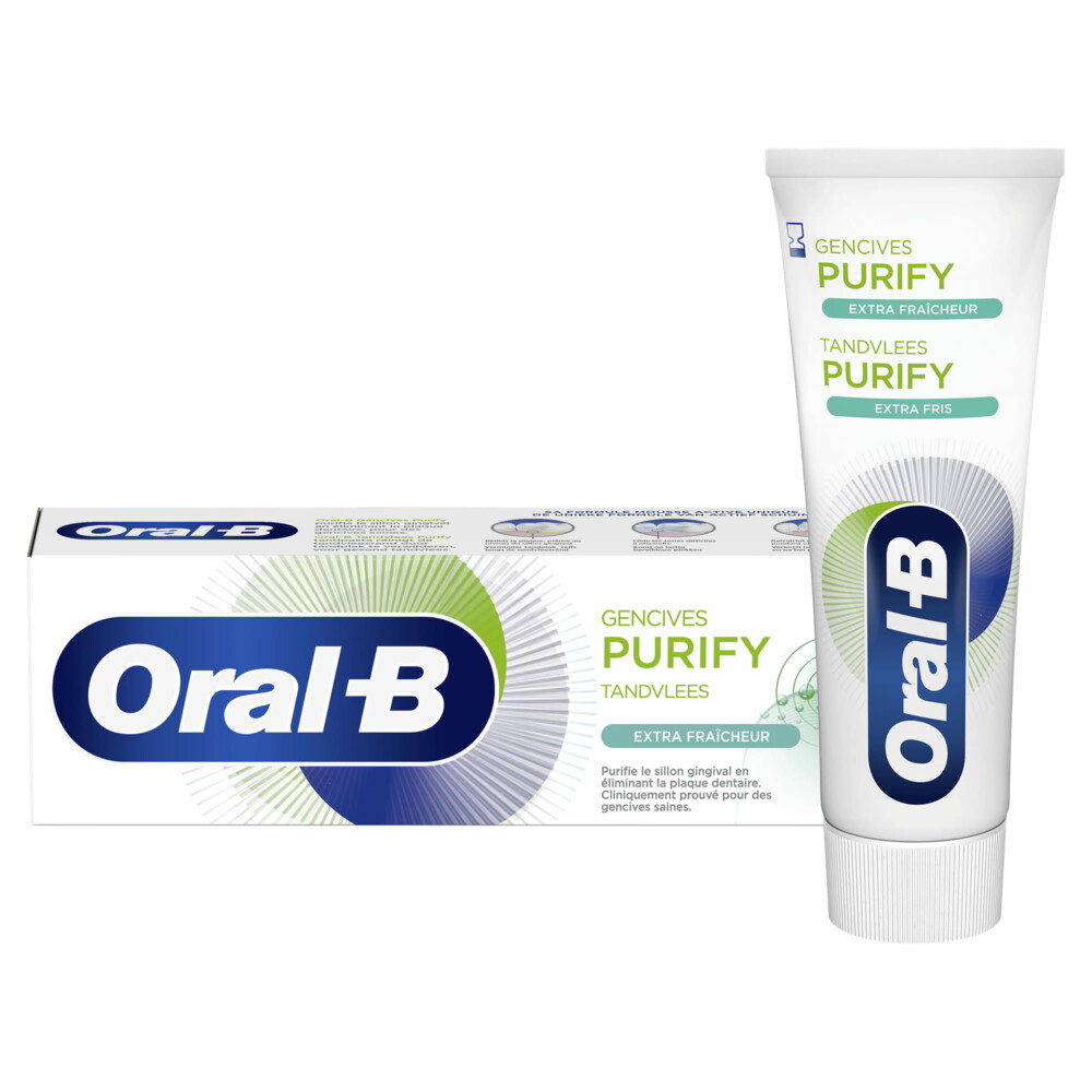 12x Oral-B Tandpasta Gum Purify Extra Fris 75 ml
