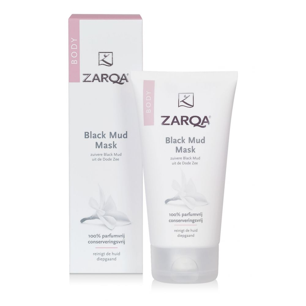 3x Zarqa Black Mud Mask 150 ml
