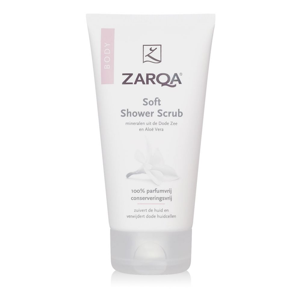 3x Zarqa Soft Shower Scrub 150 ml