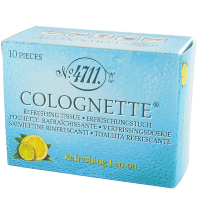 4711 Colognettes Lemon (10st)