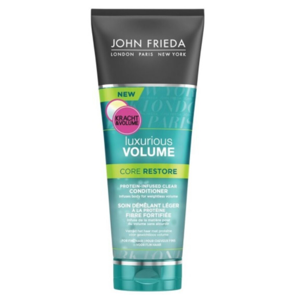 4x John Frieda Luxurious Volume Core Restore Conditioner 250 ml