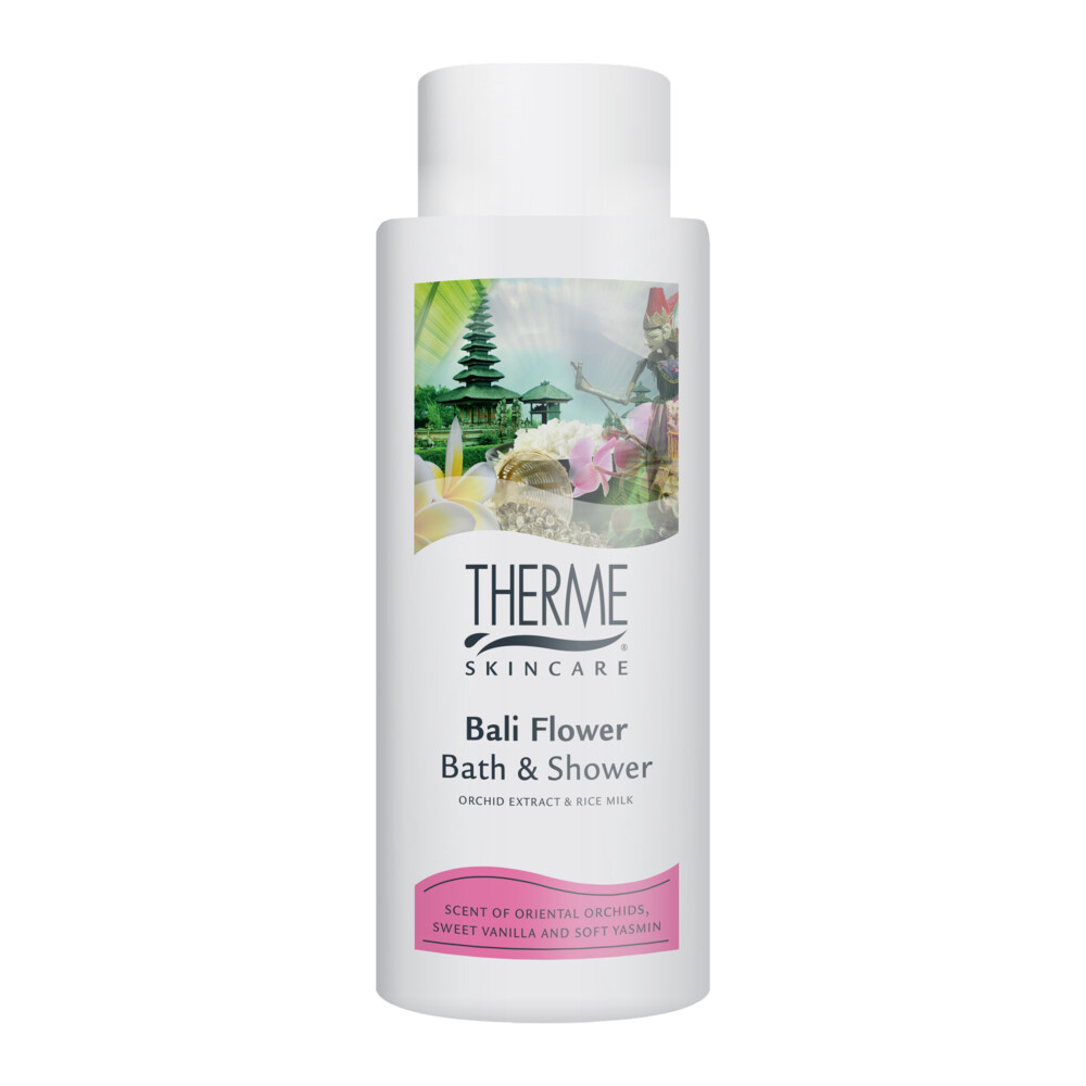 4x Therme Bath&Showergel Bali Flower 500 ml