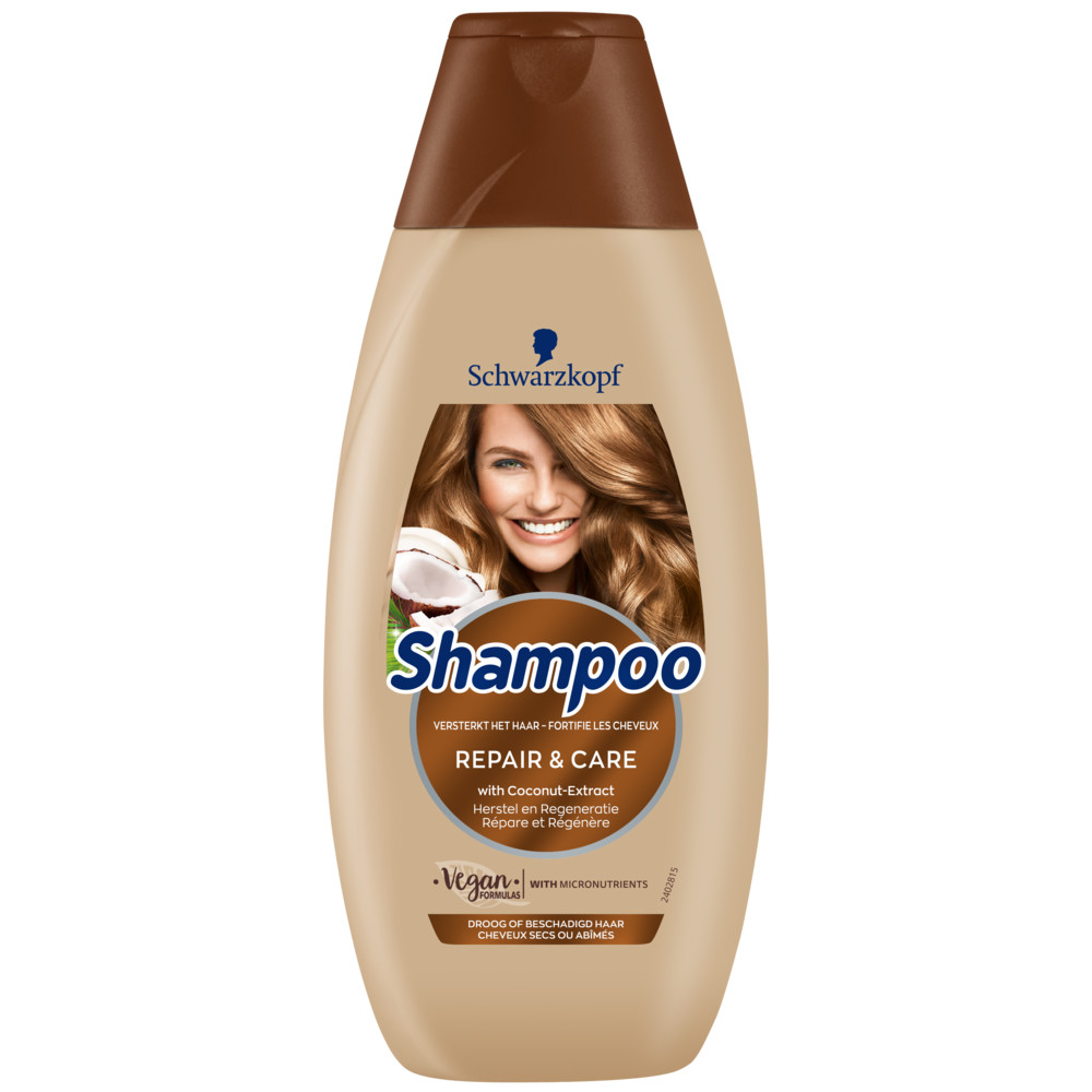 5x Schwarzkopf Repair en Care Shampoo 400 ml