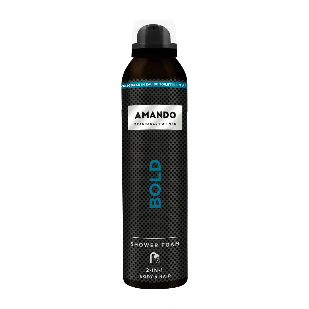 6x Amando Douche Foam Bold 200 ml