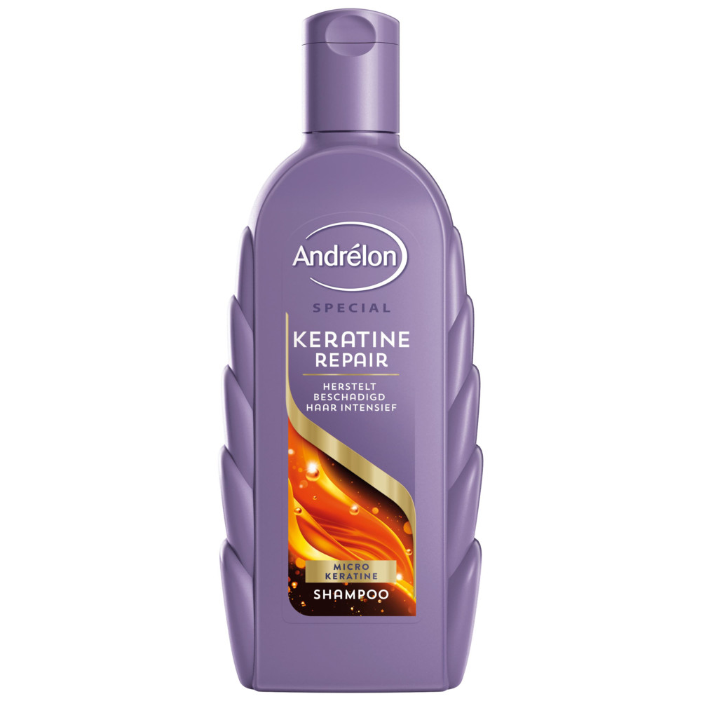 6x Andrelon Shampoo Keratine Repair 300 ml