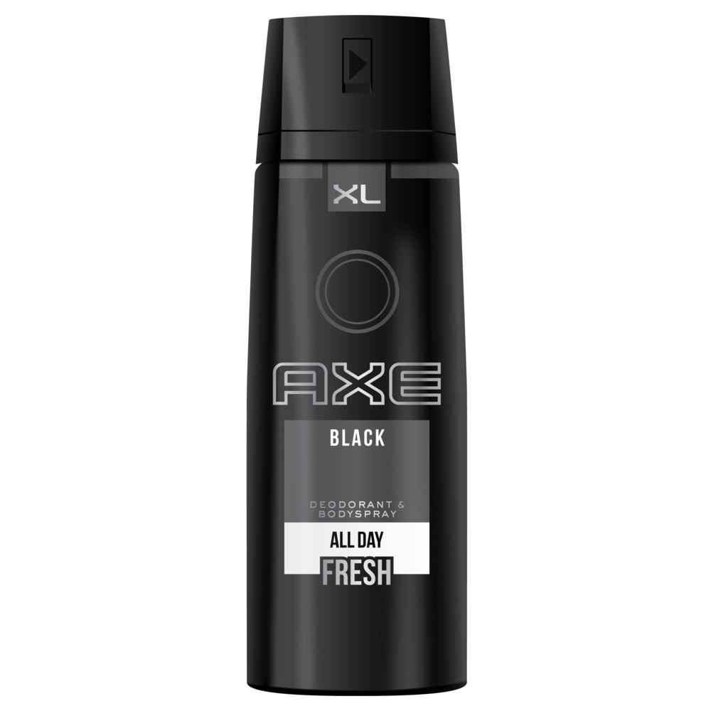 6x Axe Deodorant Bodyspray Black 200 ml