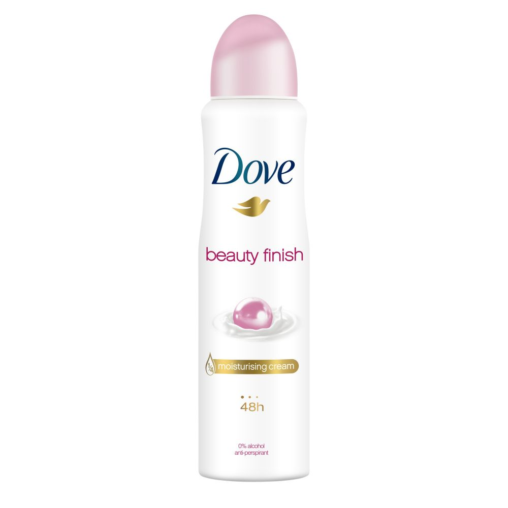 6x Dove Deodorant Spray Beauty Finish 150 ml