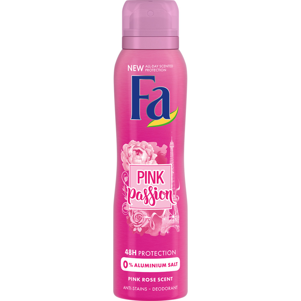 6x Fa Deospray Pink Passion 150 ml