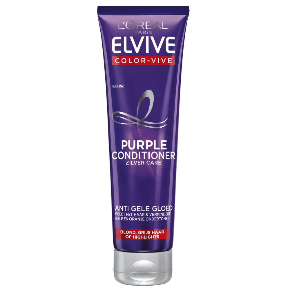 6x L\Oréal Elvive Color Vive Purple Conditioner 150 ml