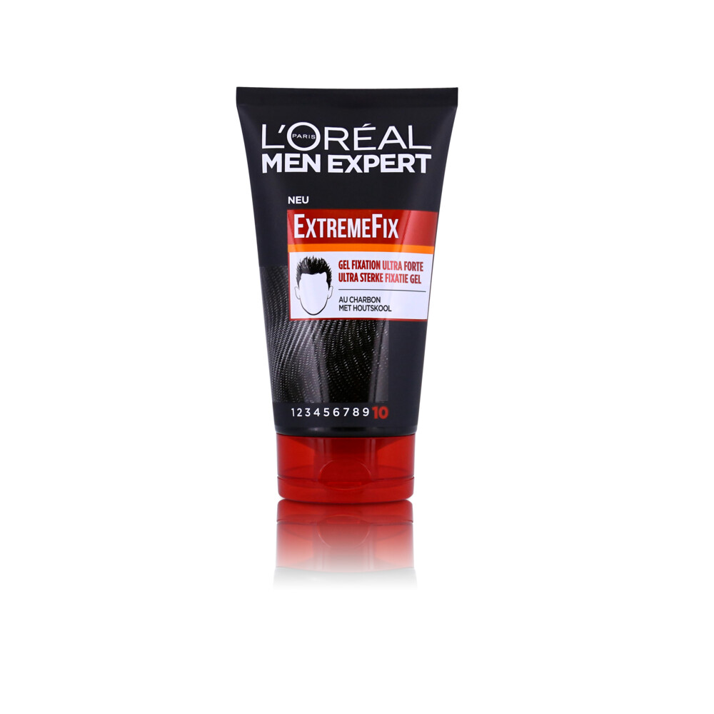 6x L\Oréal Men Expert Invisible Extreme Fix Gel 150 ml
