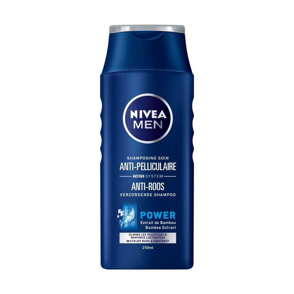6x Nivea Men Shampoo Anti-Roos Power 250 ml