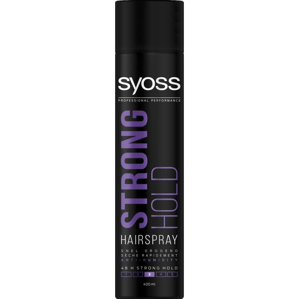 6x Syoss Styling-Hairspray Strong Hold 400 ml