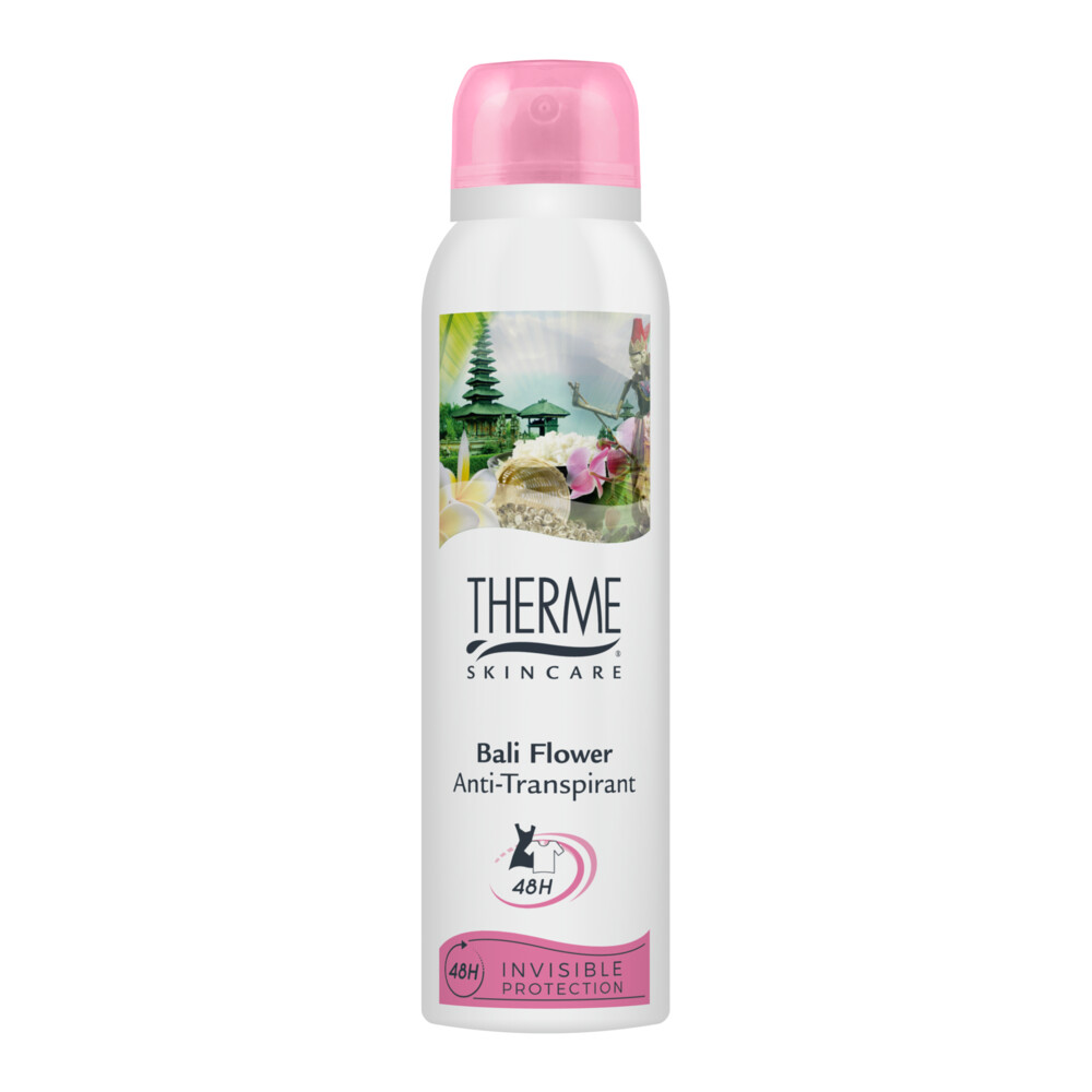 6x Therme Anti-Transpirant Bali Flower 150 ml