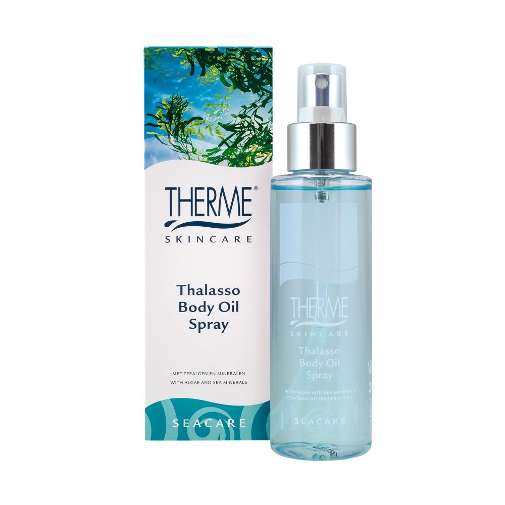 6x Therme Body Oil Spray Thalasso 125 ml