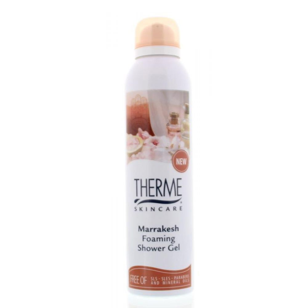 6x Therme Foaming Shower Gel Marrakesh 200 ml