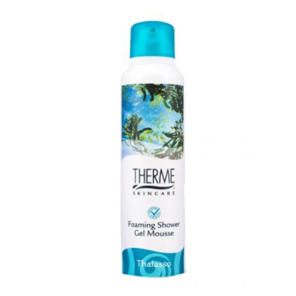6x Therme Foaming Shower Gel Thalasso 200 ml