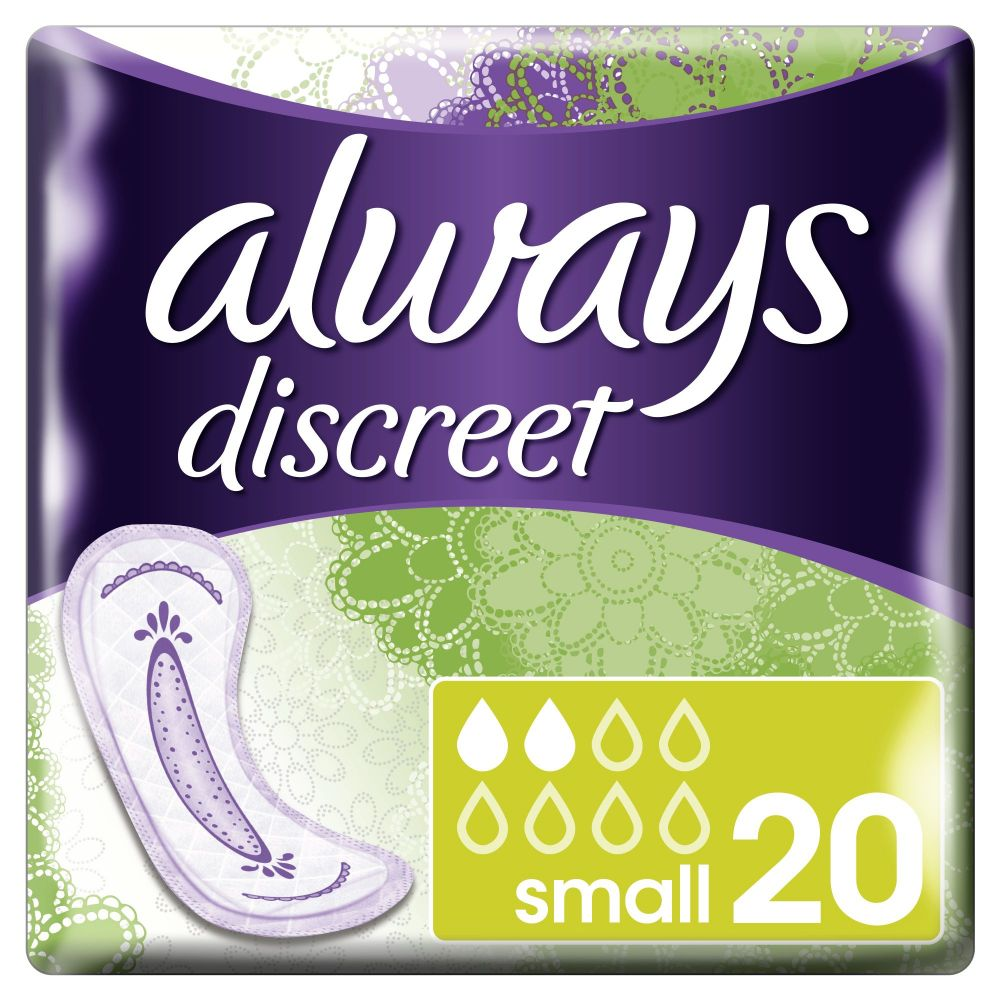 8x Always Discreet Small 20 stuks