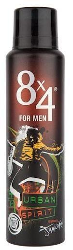 8x4 For Men Urban Spirit Deodorant 150 ml
