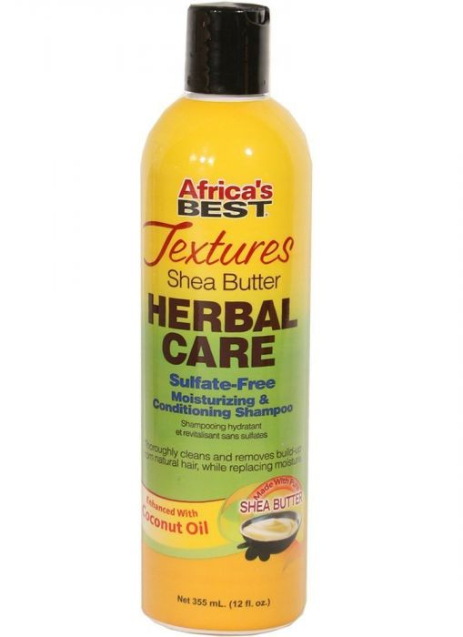 Africa\s Best Textures Herbal Care Sulfate Free Conditioning Shampoo 355ml
