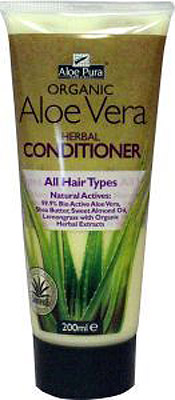 Aloe Pura Organic Aloe Vera Herb Conditioner