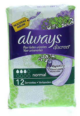 Always Discreet Maandverband Normal