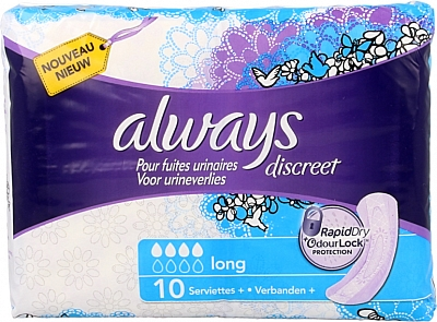 Always Discreet Voor Urineverlies Long