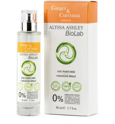 Alyssa Ashley Ginger/curcuma Eau Parfumee (50ml)