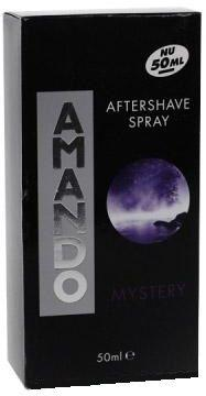 Amando Aftershave Lotion Spray Mystery - 50ml
