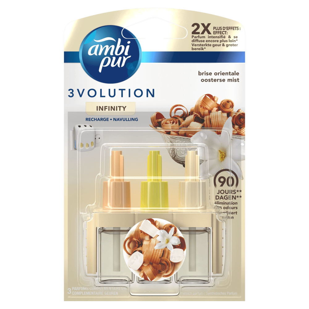 Ambi Pur 3volution Oosterse Mist Navulling 20 ml