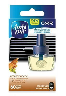 Ambi Pur Auto Luchtverfrisser Navulling After Tobacco 8 ml