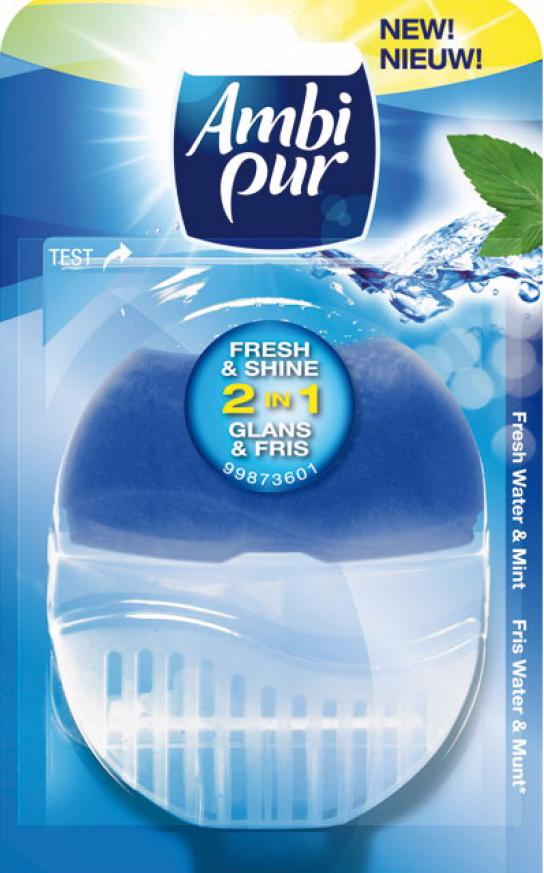 Ambi Pur Flush Fresh - Water Houder 55 ml