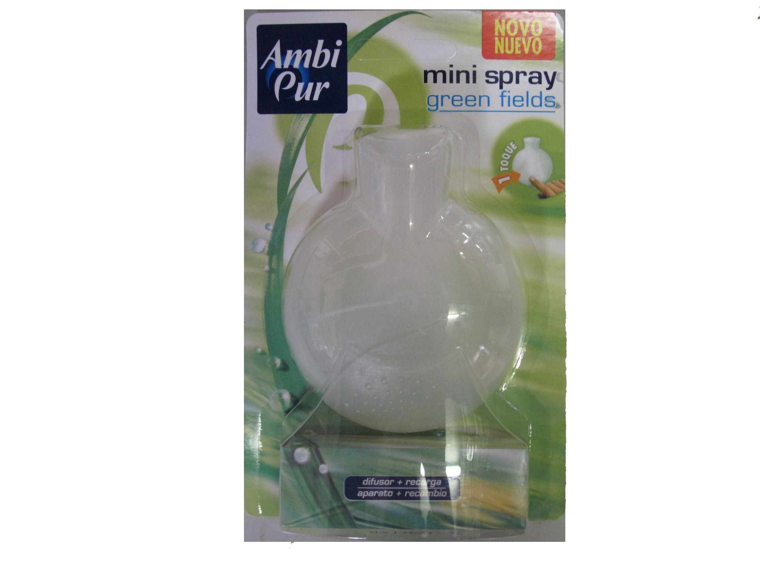 Ambi Pur Mini Spray Green Fields Luchtverfrisser 10 ml