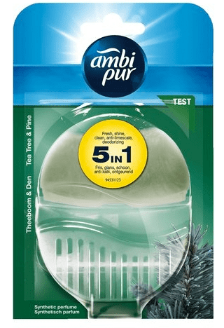 Ambi Pur Navulbaar Toiletblok - Houder Tea Tree & Pine 55ml