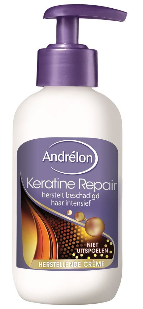 Andrelon Keratine Repair Haarcreme - 200 ml