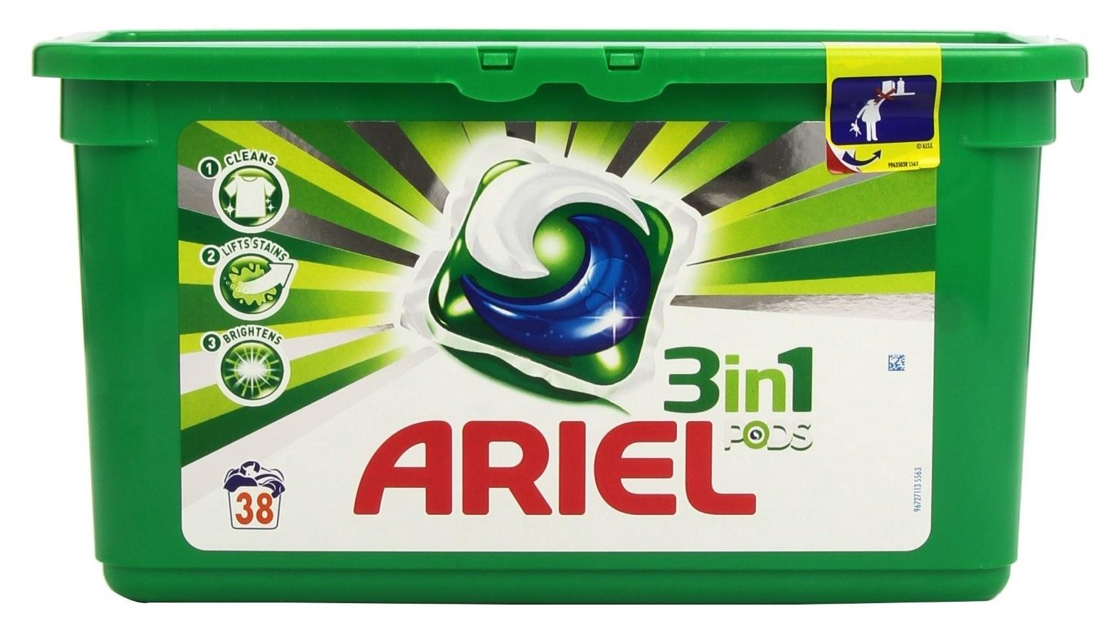 Ariel PODS 3in1 Regular - 38 wasbeurten