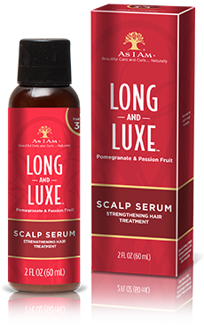 As i Am Long and Luxe Scalp Serum Strengthening Hair Treatment 60ml